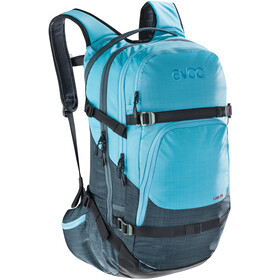 EVOC Line Backpack 28l heather slate-heather neon blue